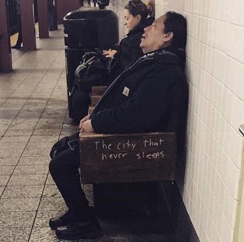 Thành phố không bao giờ ngủ.