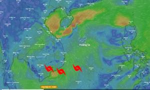 Bão số 9 hướng vào Nam Trung Bộ, có thể đổ bộ tối 24/11