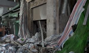 Sập nhà đang xây ở trung tâm Sài Gòn, một công nhân tử vong