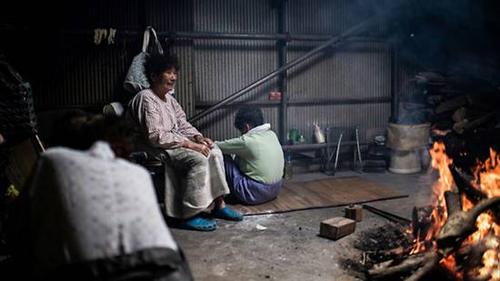 Túp lềulà nơi những ama Nhật Bản dùng để nghỉ ngơi, tán gẫu sau mỗi buổi lặn. Ảnh: AFP.