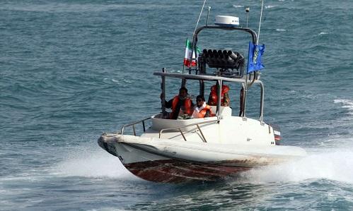 Một xuồng tuần tra của cảnh sát biển Iran. Ảnh: AFP.