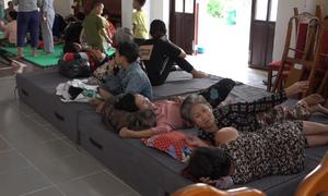 Người dân xã đảo ở TP HCM di dời tránh bão
