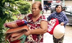 Hàng nghìn người dân Nha Trang di tản tránh bão Usagi