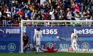 Eibar 3-0 Real Madrid