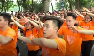 5.000 người ở Hà Nội cùng nhảy 'vì sự tử tế'