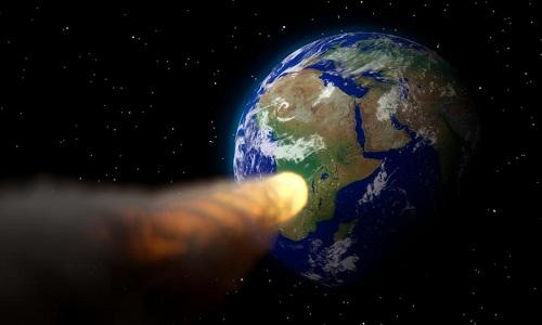 Tiểu hành tinh 2009 WB105 dài khoảng 120 mét. Ảnh: Pixabay.