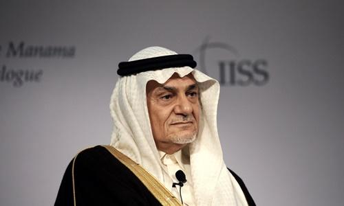 Hoàng thân Arab Saudi Turki al-Faisal. Ảnh: AFP.