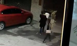 Người phụ nữ Trung Quốc bị liệt sau khi chó rơi trúng đầu