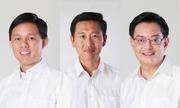 Bộ ba lãnh đạo kế cận Thủ tướng Singapore Lý Hiển Long