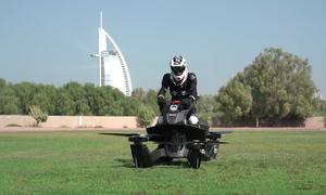 Xe máy bay tuần tra của cảnh sát Dubai