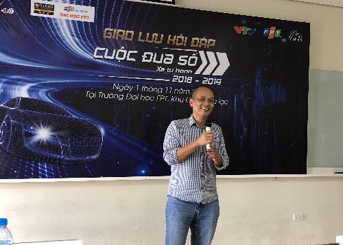 Ông Nguyễn Thành Nam - Nhà sáng lập Đại họcFUNiXchia sẻ về tiềm năng ngành Automotive tại Việt Nam