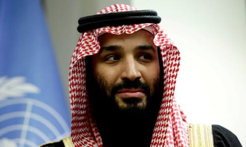 Thái tử Arab Saudi Mohammed bin Salman. Ảnh: Reuters.