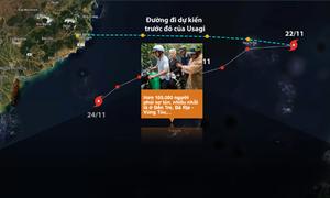 Sài Gòn và các tỉnh thiệt hại thế nào do bão Usagi