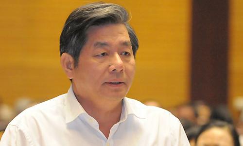Nguyên Bộ trưởng Kế hoạch Đầu tư Bùi Quang Vinh. Ảnh: P.V