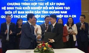 Bộ Khoa học hợp tác với Quảng Nam hỗ trợ khởi nghiệp