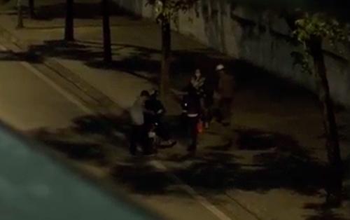 Hoạt động mại dâm ở phố Liễu Giai - Ảnh tư liệu năm 2014.