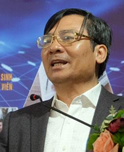Vụ phó Giáo dục Đại học Phạm Như Nghệ. Ảnh: Quỳnh Trang.