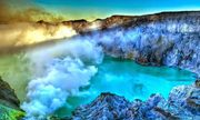 Hồ axit lớn nhất thế giới quanh năm chìm trong khói trắng
