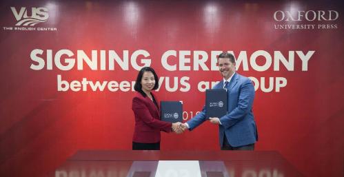 VUS tiếp tục ký kết hợp tác với Nhà xuất bản Đại học Oxford