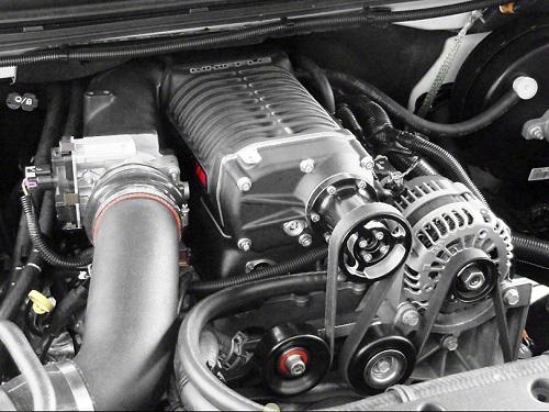 Bộ siêu nạp cho động cơ ôtô.