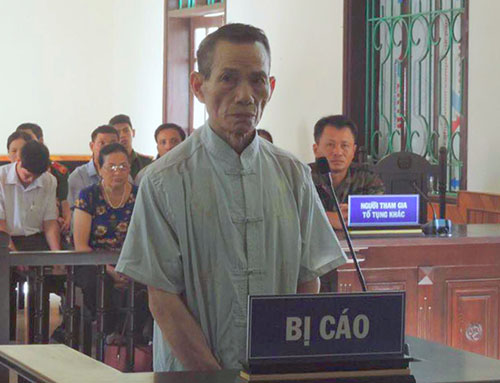 Responsible Nhans trial in May. Photo: Duc Hung