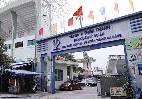 Sân vận động Chi Lăng đã bị kê biên tài sản trong vụ đại án Phạm Công Danh. Ảnh: Nguyễn Đông.