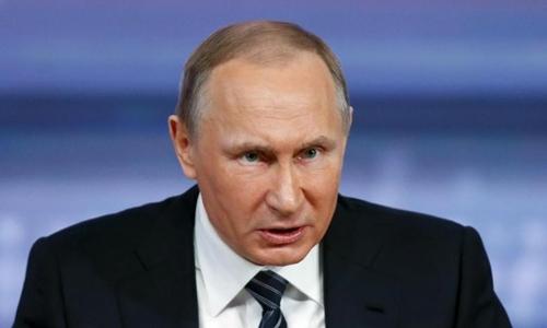 Tổng thống Nga Putin tại Moskva tháng 12/2015. Ảnh: Reuters.