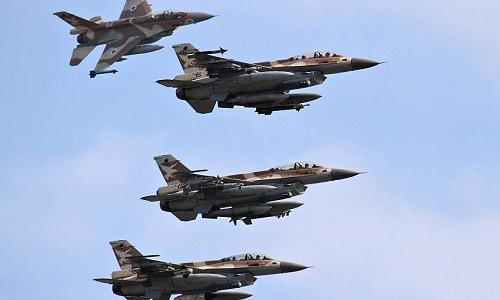Các tiêm kích F-16 của Israel. Ảnh: JNS.