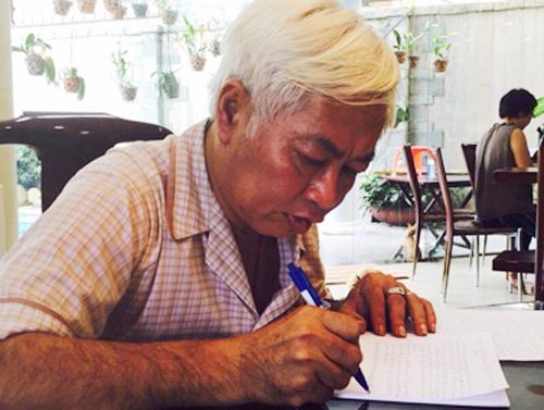 Ông Trần Phương Bình viết thư tay xin lỗi khách hàng, cổ đông và cán bộ nhân viên hồi tháng 8/2015.