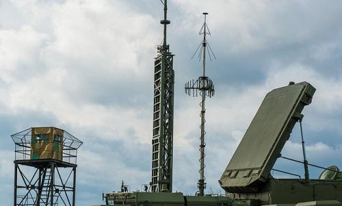 Radar92N6 thuộc hệ thống S-400của Nga triển khai ở Crimea. Ảnh: Livejournal.