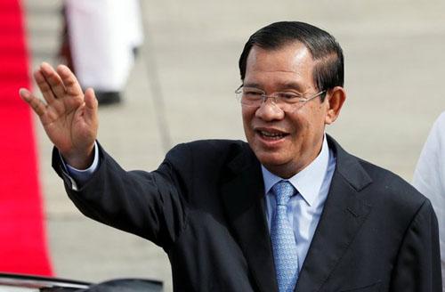 Thủ tướng Campuchia Hun Sen. Ảnh: Reuters.