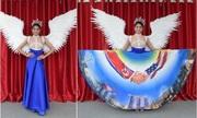 Cuộc gặp Trump - Kim trở thành cảm hứng trang phục cho hoa hậu Singapore