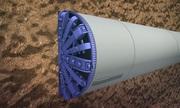 Máy đào hầm trong dự án tàu điện ngầm lớn nhất châu Âu