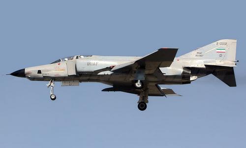 Trinh sát cơ RF-4E của Iran trong một chuyến bay năm 2009. Ảnh: Airliners.