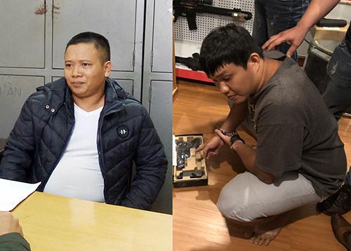 Tài (bên trái)và Tuấn. Ảnh: Khánh Hương.