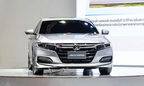 Honda Accord 2019 tại triển lãm Thailand Motor Expo 2018. Ảnh: Autoindustry