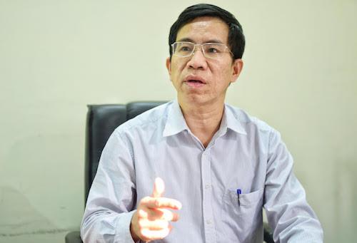 Ông Vũ Thanh Sơn, Vụ phó phụ trách Vụ Đào tạo, Bồi dưỡng cán bộ của Ban tổ chức Trung ương nói về trách nhiệm nêu gương của cán bộ cấp cao. Ảnh: Giang Huy
