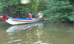 Du lịch sinh thái ở Cà Mau hút khách tham quan