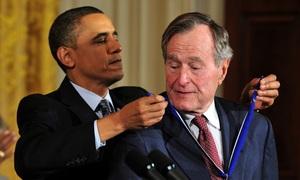 Di sản trong 4 năm cầm quyền của cựu tổng thống Bush 'cha'