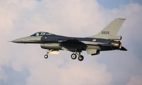 Tiêm kích F-16V, biến thể F-16 hiện đại nhất thế giới được Mỹ nâng cấp cho Đài Loan. Ảnh: Airliners.