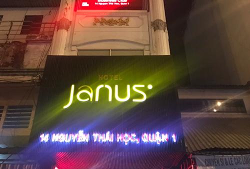 Khách sạn Janus. Ảnh: Quốc Thắng.