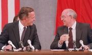 Lãnh đạo châu Âu ca ngợi Bush 'cha' vì giúp thống nhất Đức