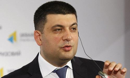 Thủ tướng Ukraine Vladimir Groisman. Ảnh: TASS.
