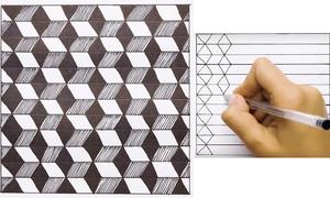 Ba cách vẽ 3D sáng tạo với hình vuông
