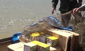 Quảng Trị liên tiếp bắt gần 400 kg pháo lậu