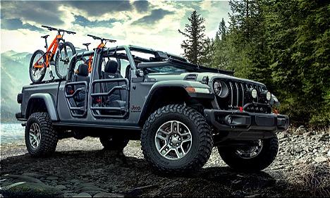 Jeep hồi sinh dòng bán tải Gladiator
