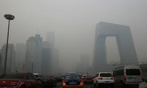 Ô nhiễm bao trùm Bắc Kinh