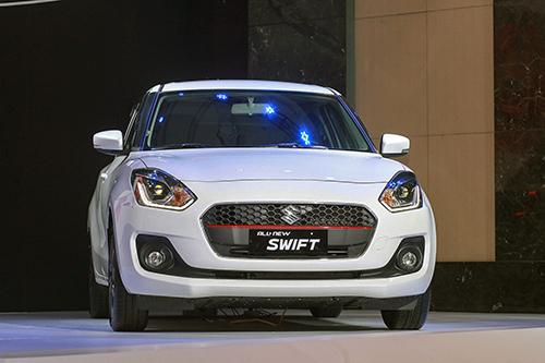 Suzuki Swift 2019 mới ra mặt tại Hà Nội. Ảnh: Lương Dũng.