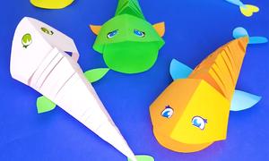 Cách làm đồ chơi hình con vật từ giấy cho trẻ