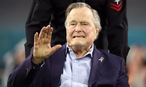 Những ngày cuối đời của cựu tổng thống Bush cha - 1